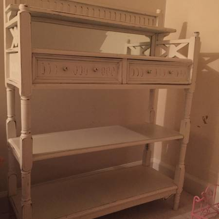 Storage Shelf with Drawers     $75     View on Craigslist