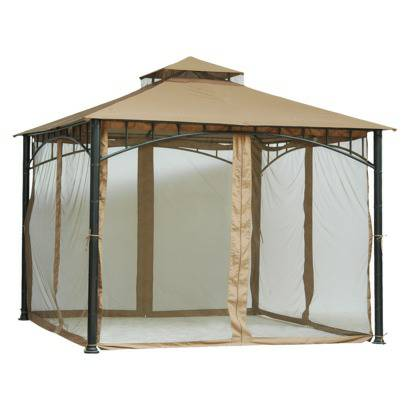 Gazebo with Netting $80 This gazebo retails for $279. View on Craigslist