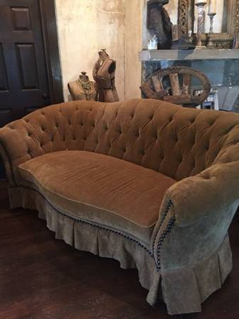 Tufted Sofa $500 Was purchased from JJ Ashley (in Franklin)  for $3800. View on Craigslist