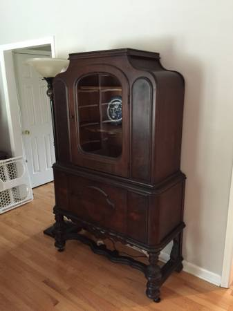 Antique China Cabinet $200 View on Craigslist