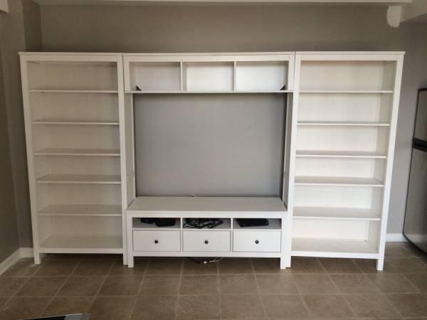 Ikea TV Stand + Bookshelves     $450     View on Craigslist