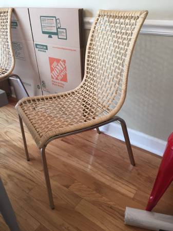 Set of 4 Ikea Chairs     $100     View on Craigslist