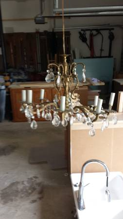 Vintage Chandelier $75 View on Craigslist