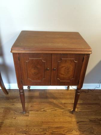 Antique Sewing Machine Cabinet $100 This is another great piece to repurpose - I have a very similar one that I've turned into a vanity in my powder room. View on Craigslist