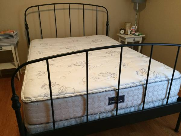 Ikea Queen Bed     $100     View on Craigslist