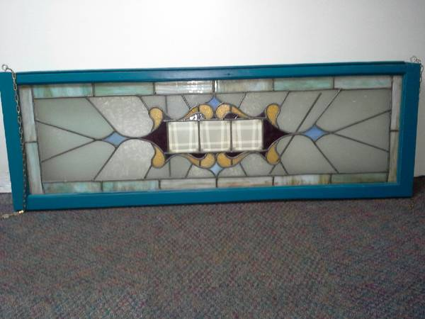 Antique Stained Glass Window $70 View on Craigslist