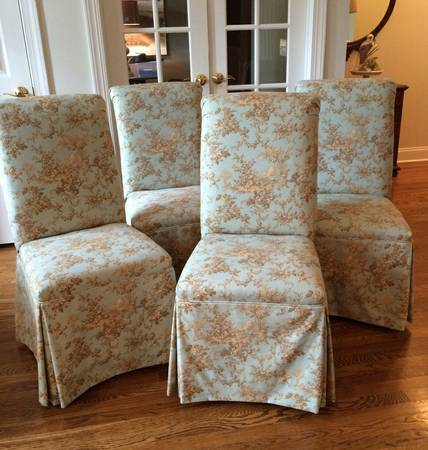 Set of 4 Parsons Chairs     $285     View on Craigslist
