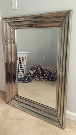 Beveled Mirror     $60     View on Craigslist