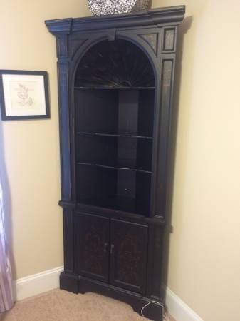 Black Corner Cabinet $150 View on Craigslist