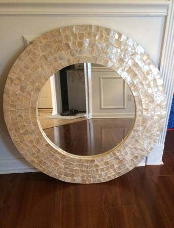 Round Mirror $80 This mirror retails for over $250 at Bed, Bath and Beyond. View on Craigslist