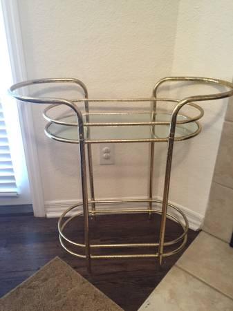Brass Bar Cart     $30     View on Craigslist