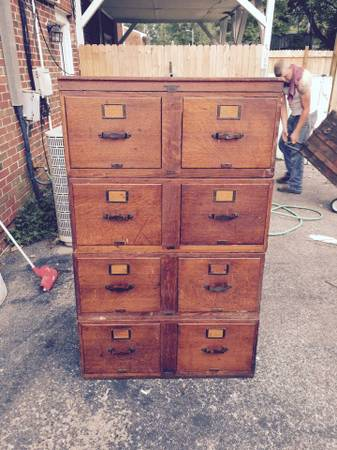 Antique Filing Cabinet     $200     View on Craigslist