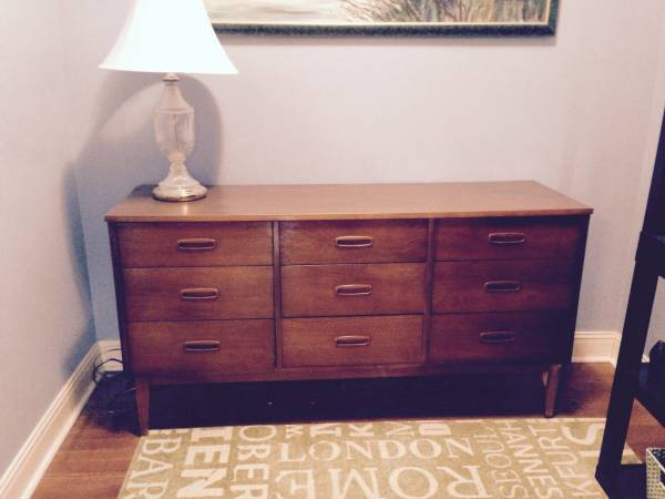 Mid Century Dresser $60 View on Craigslist