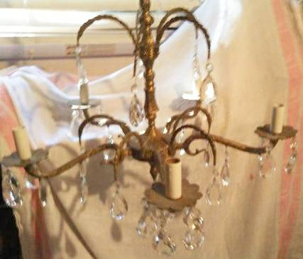 Vintage Chandelier $40 View on Craigslist