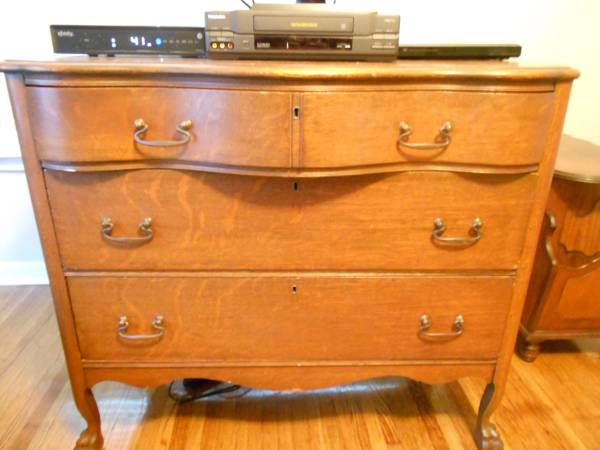 Antique Dresser $75 View on Craigslist
