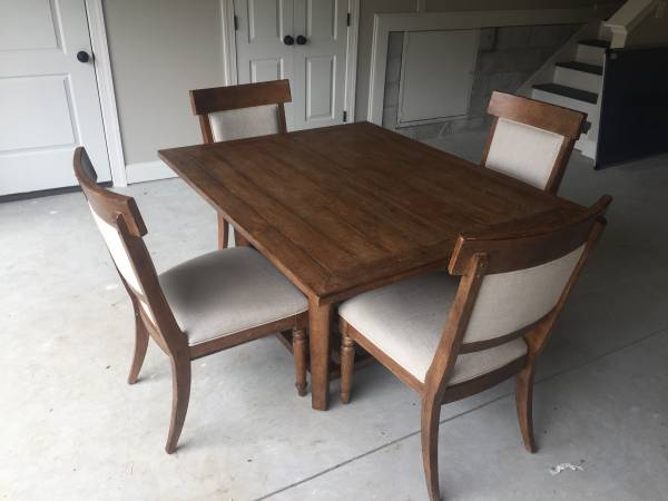 Table and Chairs $250 View on Craigslist