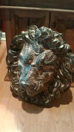 Lion Head $45 This would be a fun piece to hang on the wall! View on Craigslist