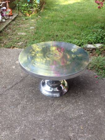 Aluminum Coffee Table $100 View on Craigslist
