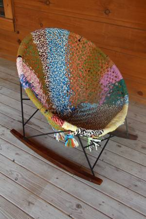 Urban Outfitters Woven Rocker     $125   This retails for $300.    View on Craigslist