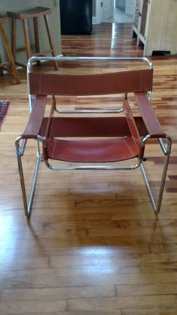 Pair of Vintage Wassily Chairs     $450   These are a great pair of modern chairs. I don't know for sure if these are authentic Wassily chairs but if they are these are a good either way!    View on Craigslist