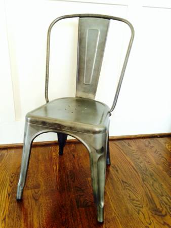 Set of 4 Steel Chairs     $250     View on Craigslist
