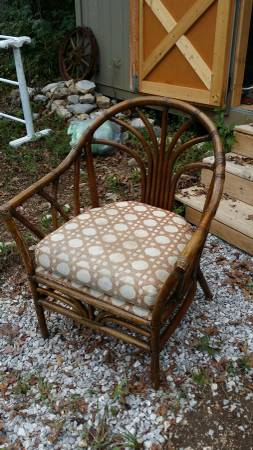 Vintage Rattan Chair     $10   I love this chair and for $10 its a steal!    View on Craigslist