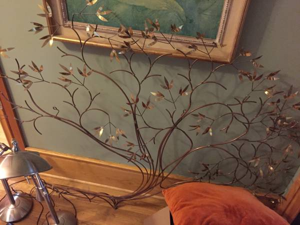 Vintage Metal Wall Hanging $250 View on Craigslist