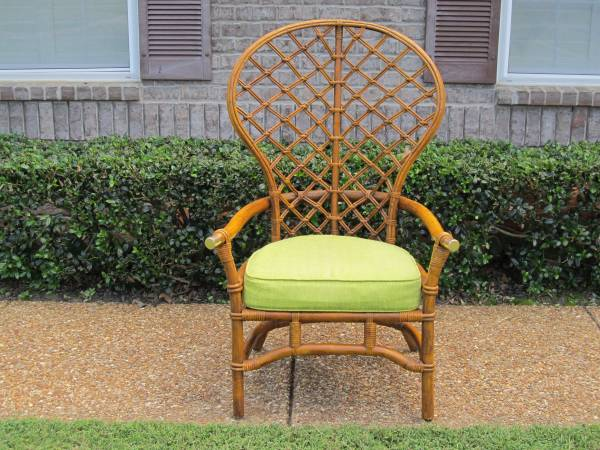 Vintage Bamboo/Rattan Chair     $125     View on Craigslist
