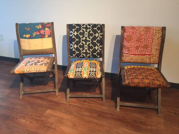 Anthropologie Dining Chairs     $50 each     View on Craigslist
