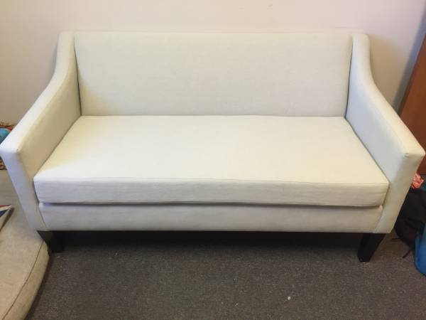 West Elm Sutton Sofette     $500   This currently retails for $899.    View on Craigslist
