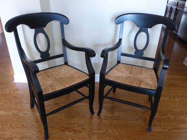 Pair of Pottery Barn Arm Chairs     $150     View on Craigslist