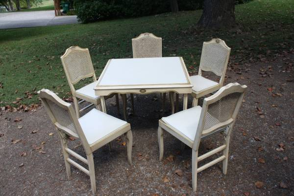 Vintage Leg-o-matic Table & Chairs     $120     View on Craigslist