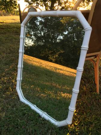 Vintage Bamboo Mirror     $65     View on Craigslist