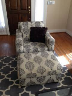 West Elm Chair and Ottoman     $100     View on Craigslist