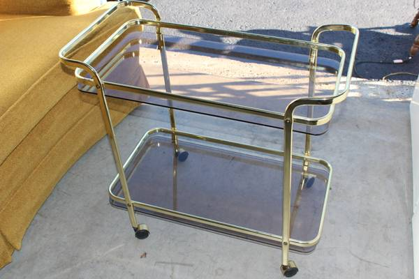 Brass Bar Cart     $35     View on Craigslist