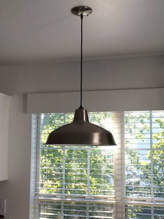 Industrial Pendant Light     $35     View on Craigslist