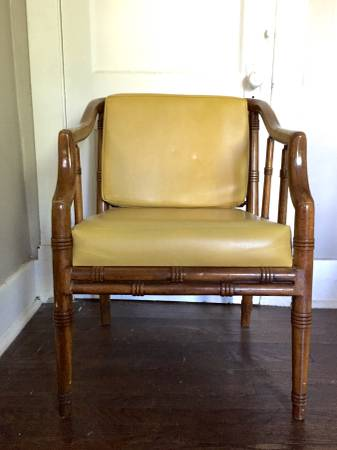 Vintage Faux Bamboo Chair     $30     View on Craigslist