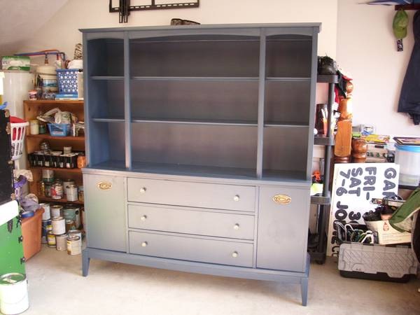 Blue Hutch/Buffet $200 View on Craigslist