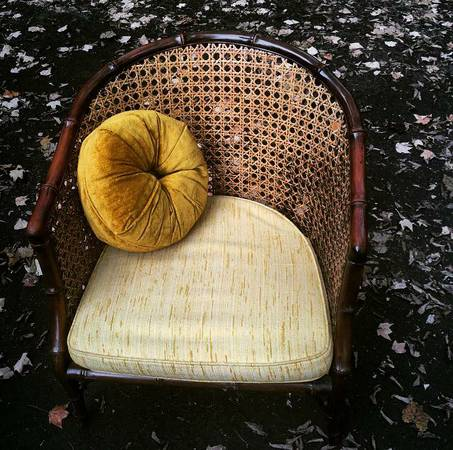 Faux Bamboo and Cane Chair $35 View on Craigslist