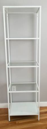 Ikea Vittsjo Shelf     $40   These shelving units look great spray painted gold.    View on Craigslist