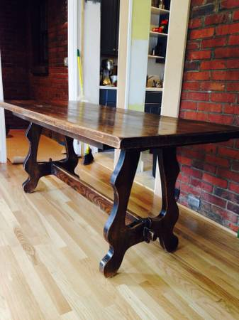 Antique Trestle Table $75 View on Craigslist