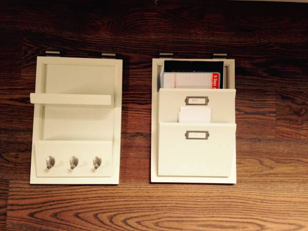 Pottery Barn Wall Organizers     $30     View on Craigslist