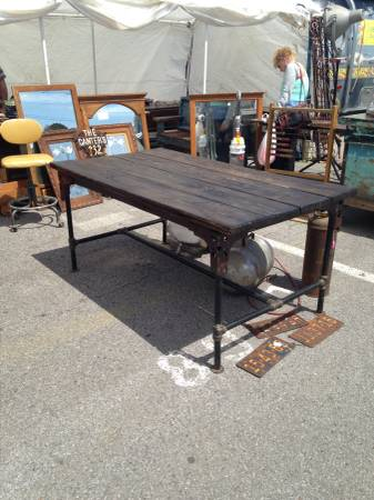 Rustic/Industrial Table     $375     View on Craigslist