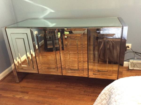 Mirrored Credenza     $300     View on Craigslist