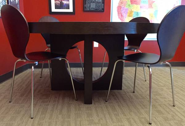West Elm Table with Chairs     $250     View on Craigslist