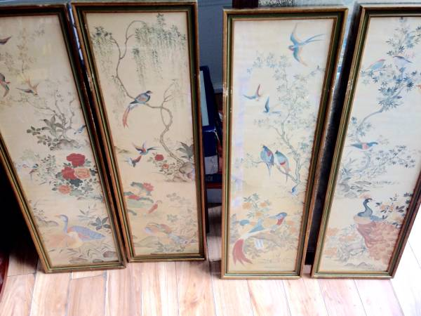 Mid Century Asian Art Panels     $120     View on Craigslist