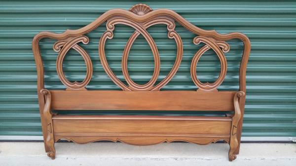 Vintage Headboard     $125   This would be really pretty painted.     View on Craigslist