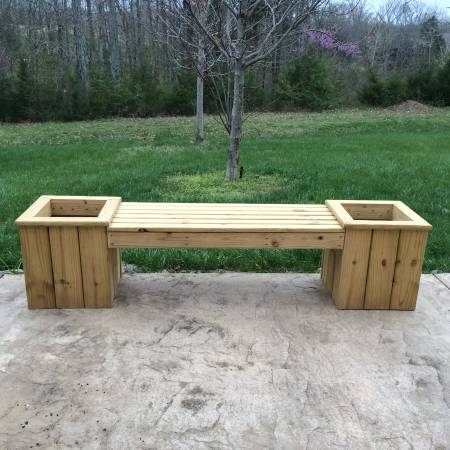 Outdoor Planter Bench $175 View on Craigslist