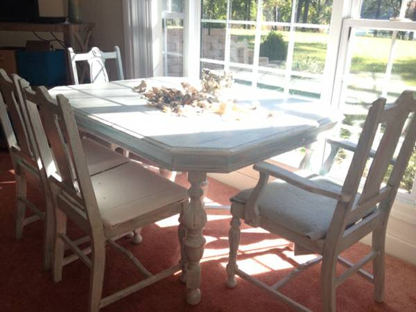 Dining Table and Chairs $99 View on Craigslist
