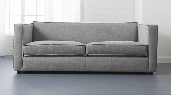 CB2 Sofa $875 This sofa is less than 6 months old and retails for $1199. View on Craigslist